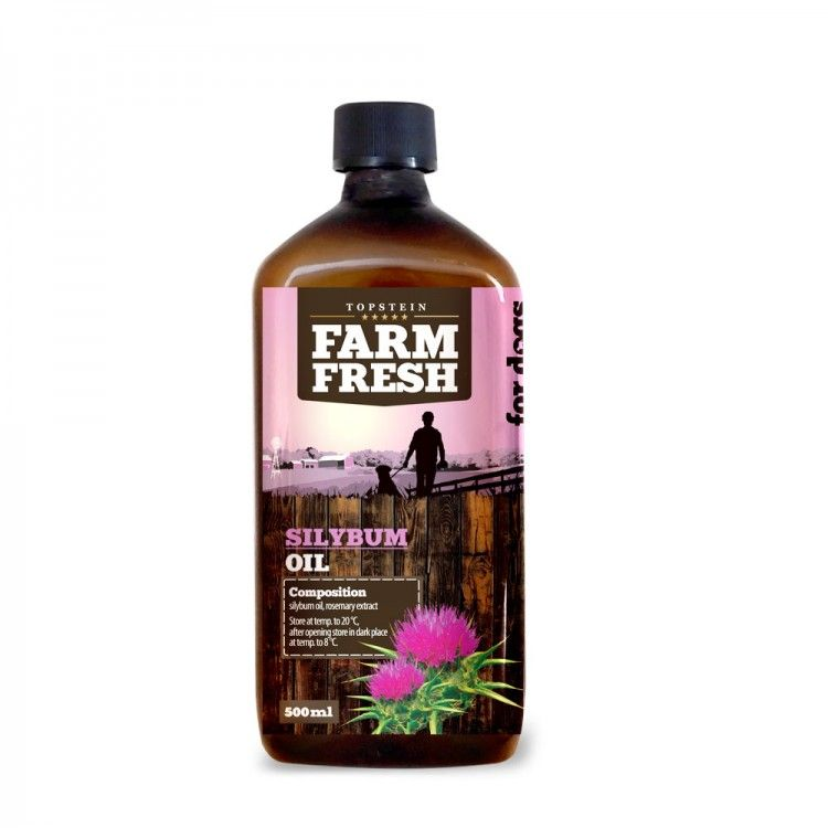 Farm Fresh – Silybum Oil - Ostropestřecový olej 500 ml