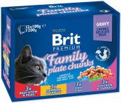 Brit Premium Cat Family Plate 1200 g