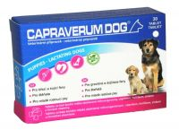Capraverum Dog puppies-lactating dogs 30 tbl - 1+1 ZDARMA