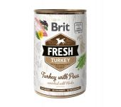 Brit Fresh Turkey with Peas 400 g