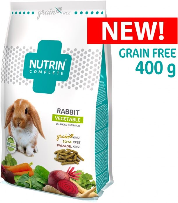 NUTRIN Complete Králík - GRAIN FREE - Vegetable 400g