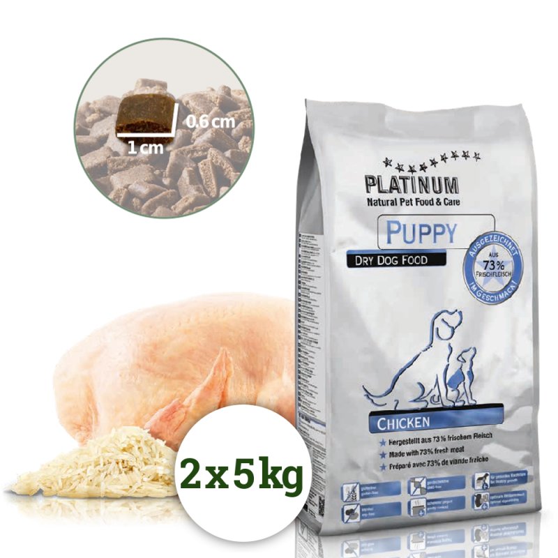 Platinum Natural Puppy Chicken 10kg