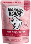 BARKING HEADS Beef Waggington 300g kapsička