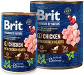 Brit Premium by Nature Chicken with Hearts 800 g