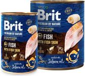 Brit Premium by Nature Fish with Fish Skin 800 g