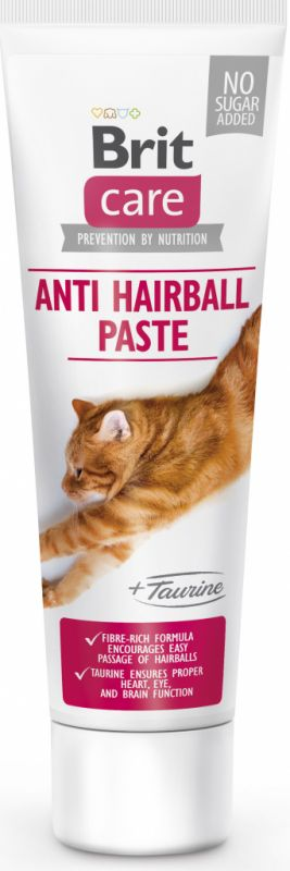 Brit Care Cat FUNCTIONAL PASTE ANTI HAIRBALL with TAURINE