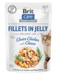 Brit Care Cat Pouch Choice Chicken with Cheese in Jelly