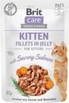 Brit Care Cat Pouch KITTEN - Savory Salmon in Jelly 85g