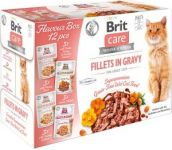 Brit Care Cat Pouches Fillets in Gravy FLAVOUR BOX