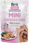 Brit Care Mini Chicken & Tuna fillets in gravy 85 g