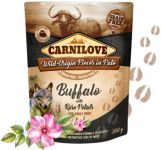 Carnilove Dog Pouch Paté Buffalo with Rose Petals 300 g