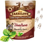 Carnilove Dog Pouch Paté Venison with Strawberry Leaves 300 g