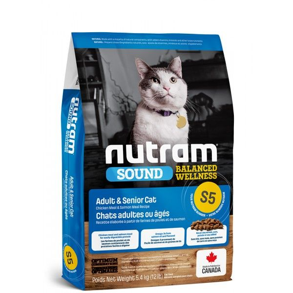 NUTRAM Sound Adult/senior Cat 1,13kg
