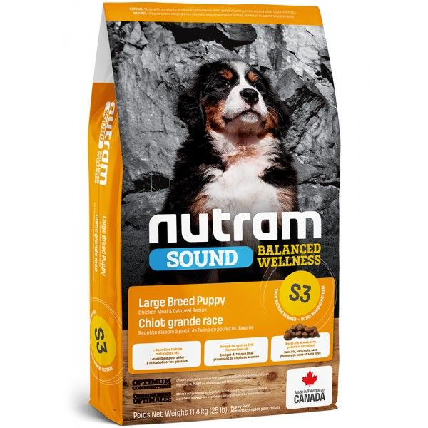 NUTRAM Sound Puppy large breed 11,4g