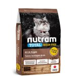 NUTRAM Total Grain Free Turkey, Chicken & Duck Cat 5,4kg