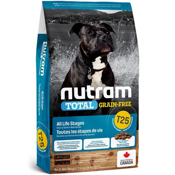 NUTRAM Total GrainFree Salmon Trout Dog 11,4 kg