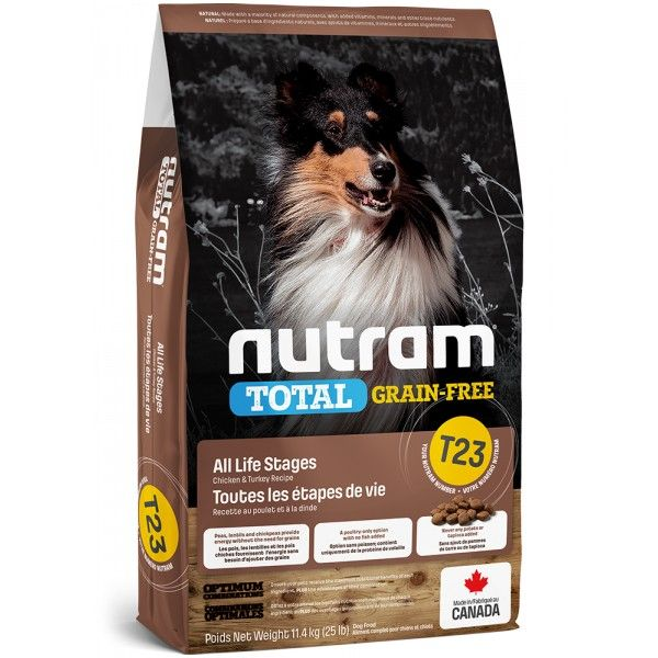 NUTRAM Total GrainFree Turkey, Chicken, Duck 2kg