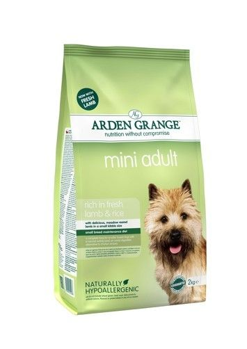 Arden Grange - Adult: mini rich in fresh lamb & rice 6 kg