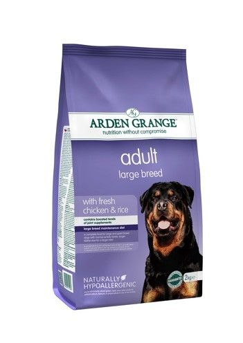 Arden Grange - Adult Large Breed: with fresh chicken & rice 12 kg