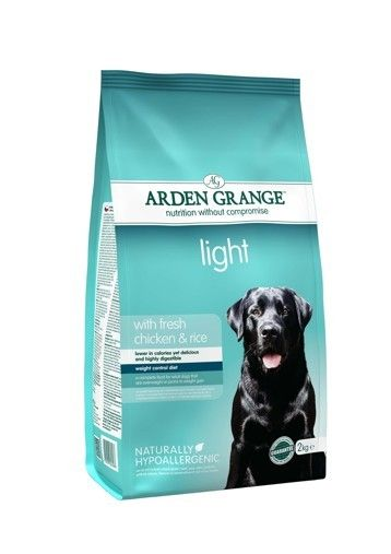 Arden Grange - Adult: light with fresh chicken & rice 12 kg