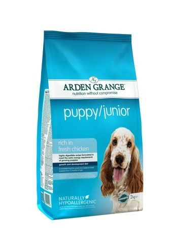 Arden Grange - Puppy/Junior: rich in fresh chicken 2X12 kg