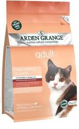 Arden Grange - Adult Cat: with fresh salmon & potato - grain free 8 kg