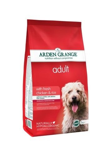 Arden Grange - Adult: with fresh chicken & rice 2 kg