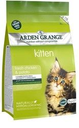 Arden Grange - Kitten: fresh chicken & potato - grain free 2 kg