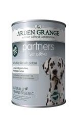 Arden Grange - Partners Sensitive Fresh White Fish with Potato 395g