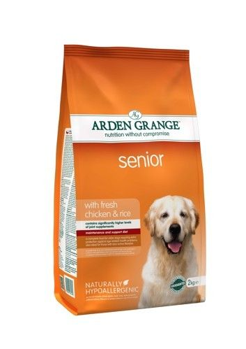 Arden Grange - Senior: with fresh chicken & rice 2 kg