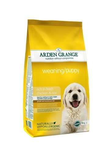 Arden Grange - Weaning/Puppy: rich in fresh chicken & rice 2 kg