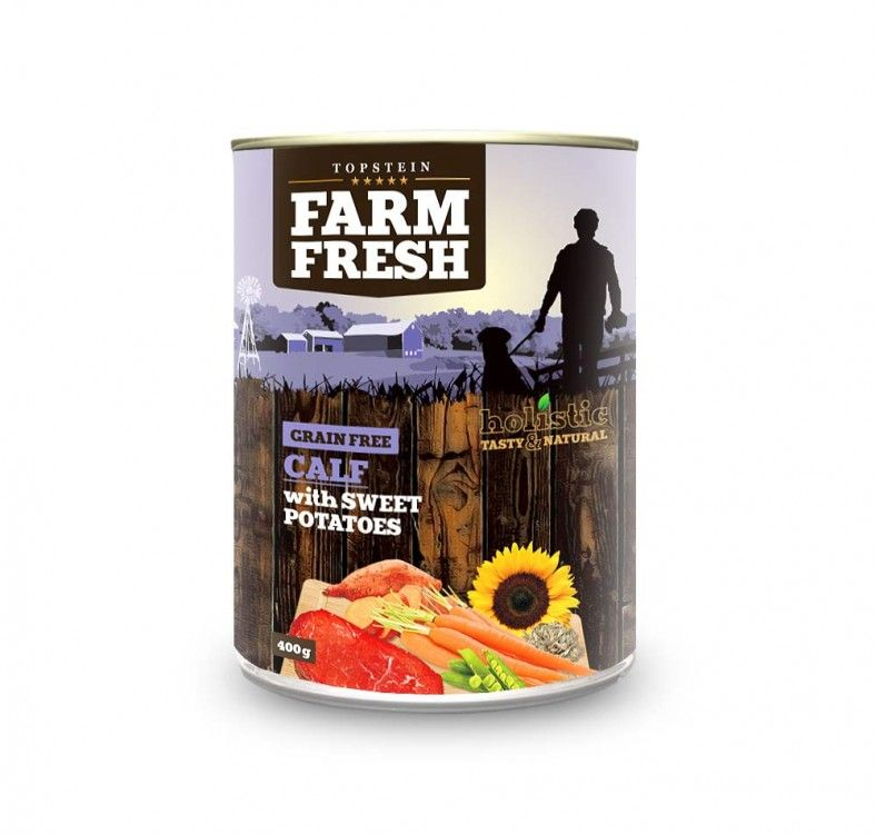 FARM FRESH Calf with sweet potatoes 400 g