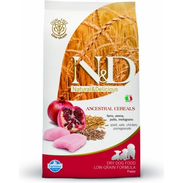 N&D Low Grain Puppy M/L Chicken & Pomegranate