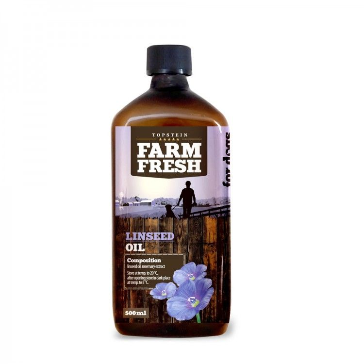 Farm Fresh – Linseed Oil - Lněný olej 200 ml
