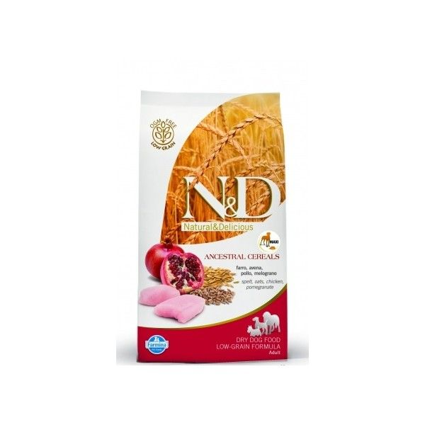 N&D Low Grain Adult M/L Chicken & Pomegranat