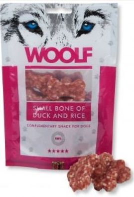 woolf bone with duck and rice