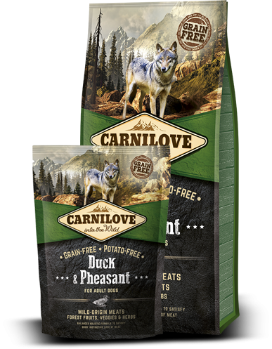 Carnilove Dog Duck & Pheasant for Adult 1,5kg