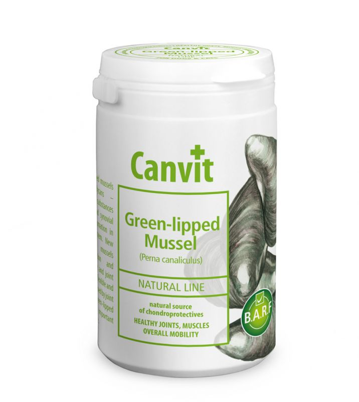 Canvit Natural Line Green-lipped Mussel 180g
