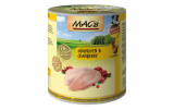 MACs Dog KUŘE a BRUSINKA 400g