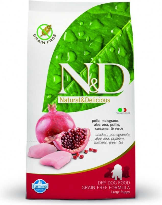 N&D Grain Free Puppy Large Chicken & Pomegr