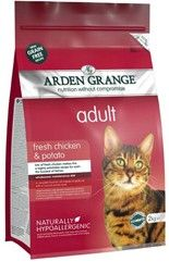 Arden Grange - Adult Cat: fresh chicken & potato - grain free 400g