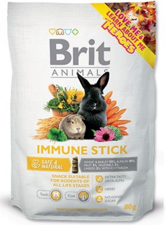 Brit Animals Immune Stick for Rodents