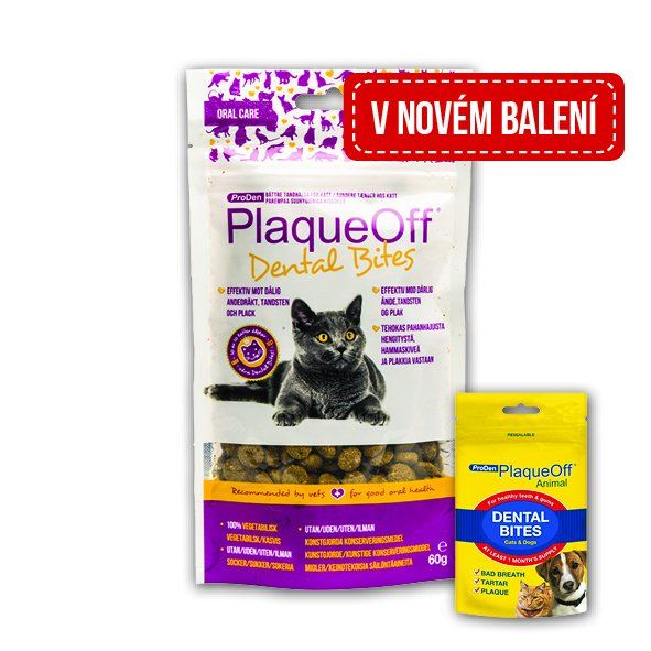 PLAQUEOFF DENTAL BITES CAT