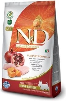 N&D Grain Free Pumpkin MINI Chicken & Pomegranate