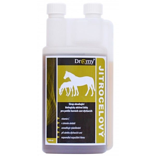 Dromy Jitrocelový sirup 1000 ml